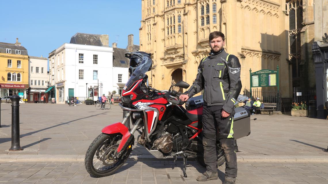 adventure biking day route klim gear