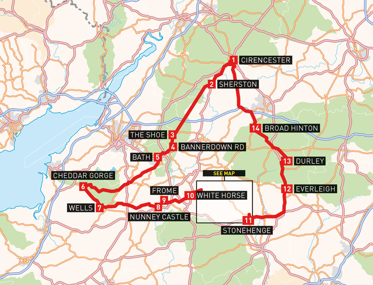 adventure biking day route south west england