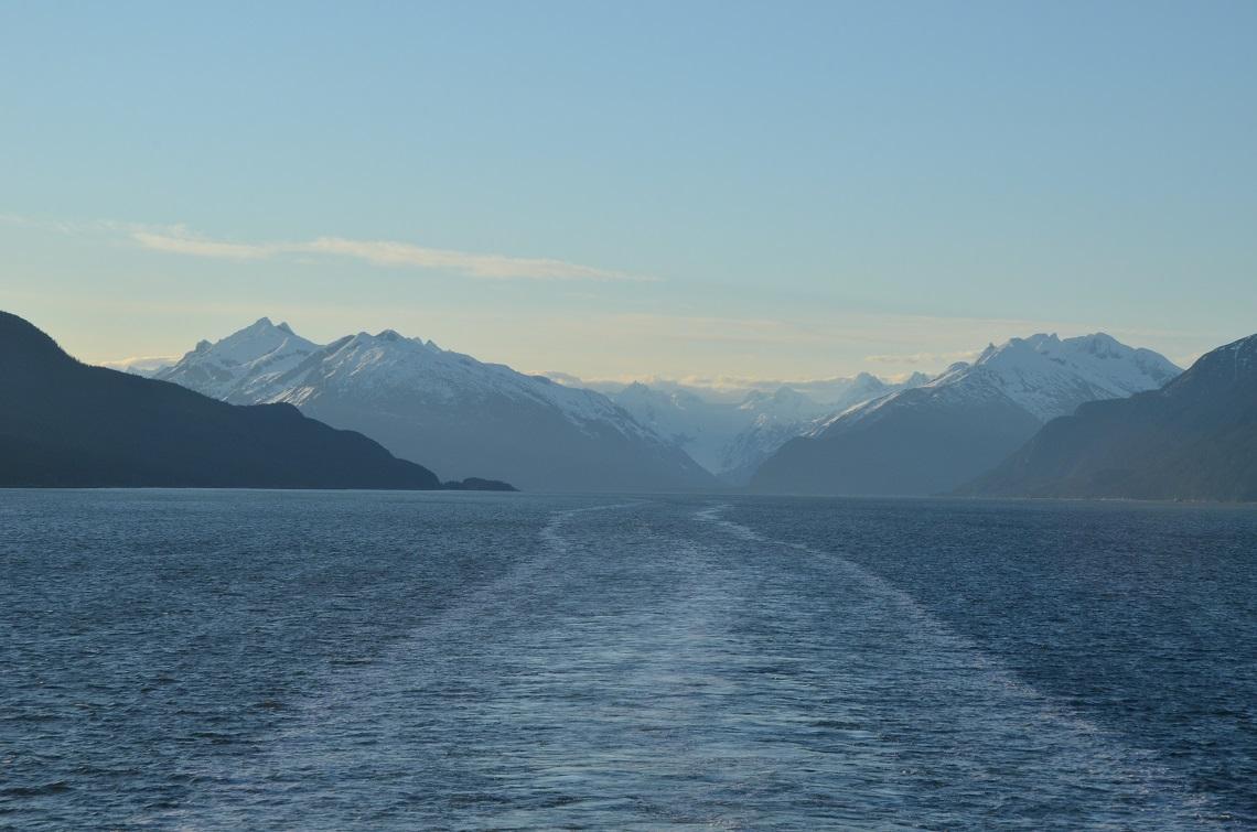 Leaving Alaska behind
