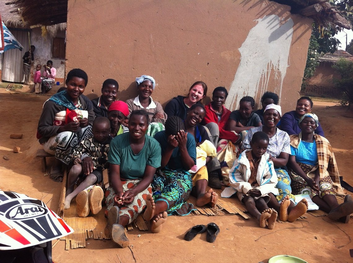 One of Microloan's lending groups