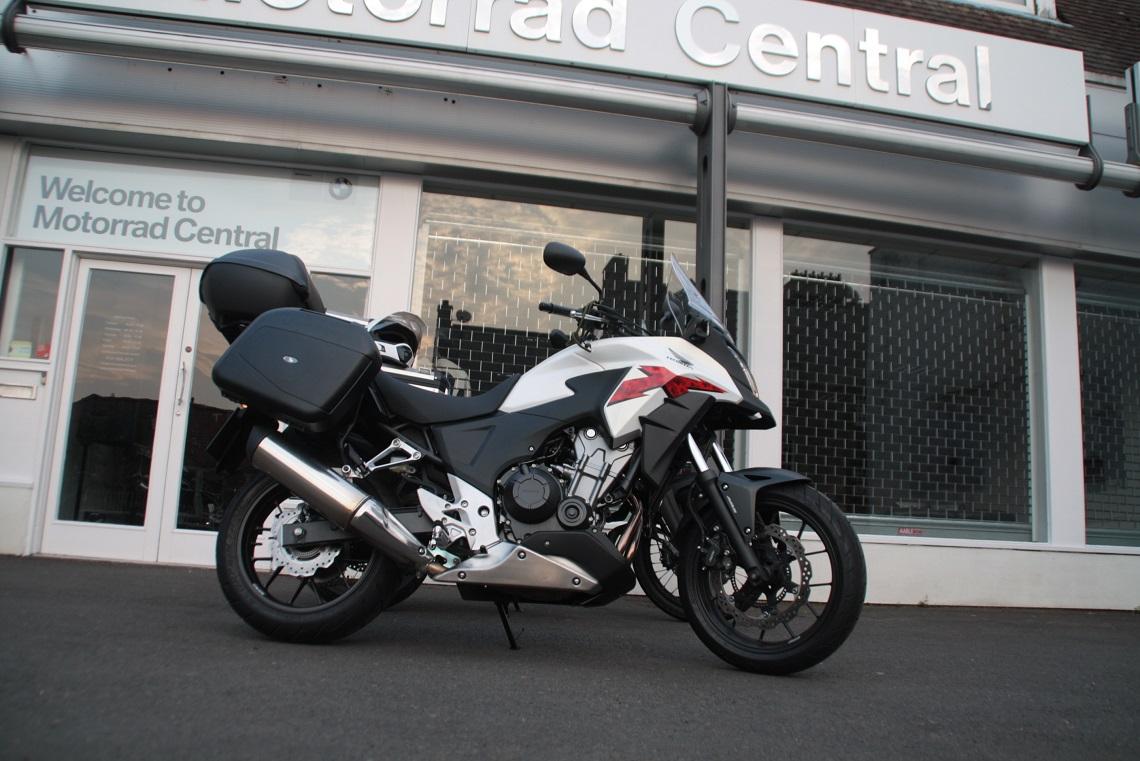 Outside BMW dealer