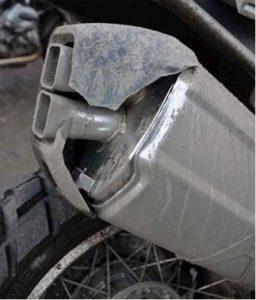 Plastic exhaust cowls