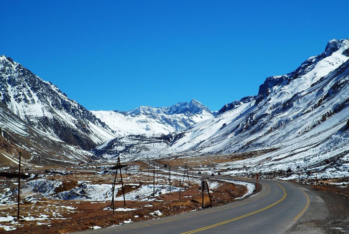 Puente del Inca Pass Andes