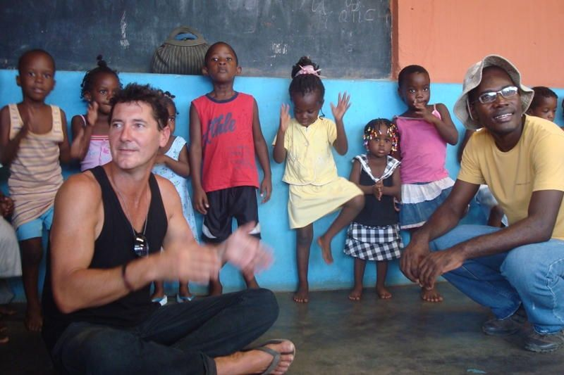 Save the Children Angola Spencer and Team Leader