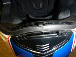 Schuberth-front vent