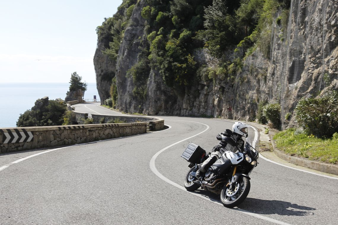 The SS163 along the Amalfi coast. Sublime