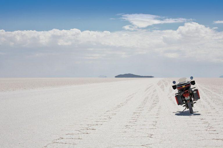The Uyuni Salt Flats