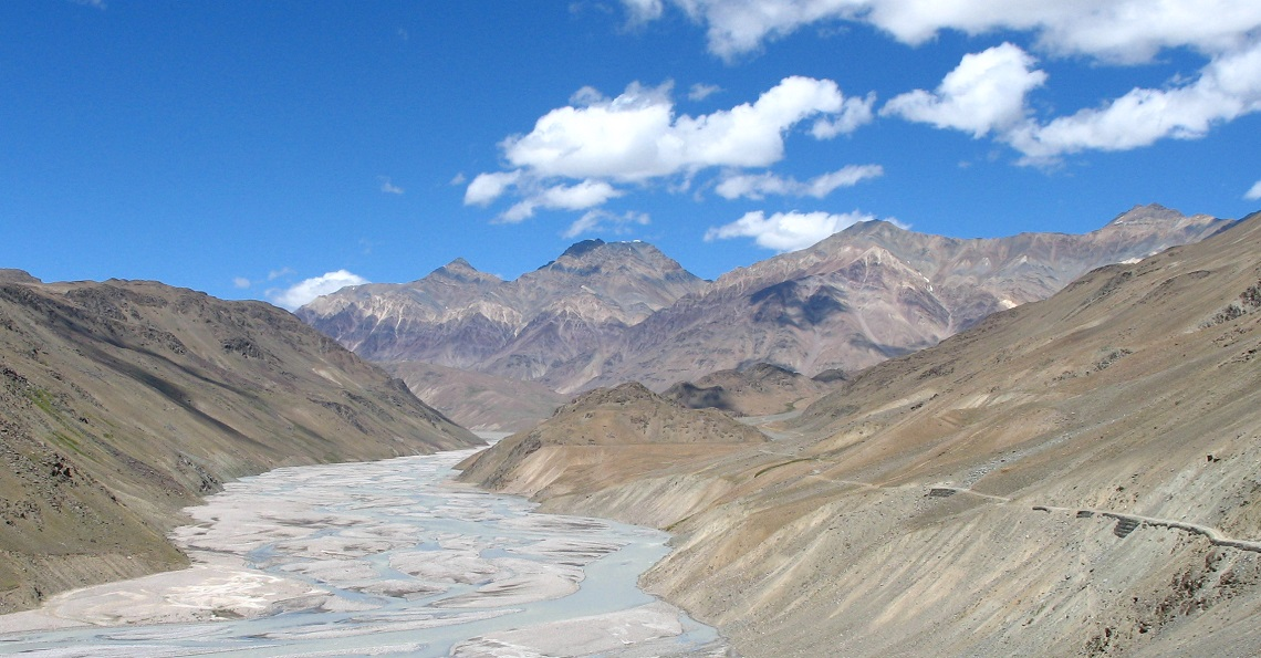The passage through Lahaul Valley