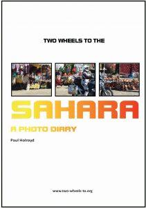 Two Wheels To The Sahara
