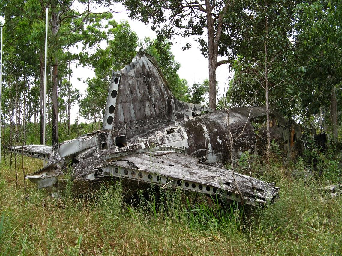 WWII wreckage near Bamaga (1)