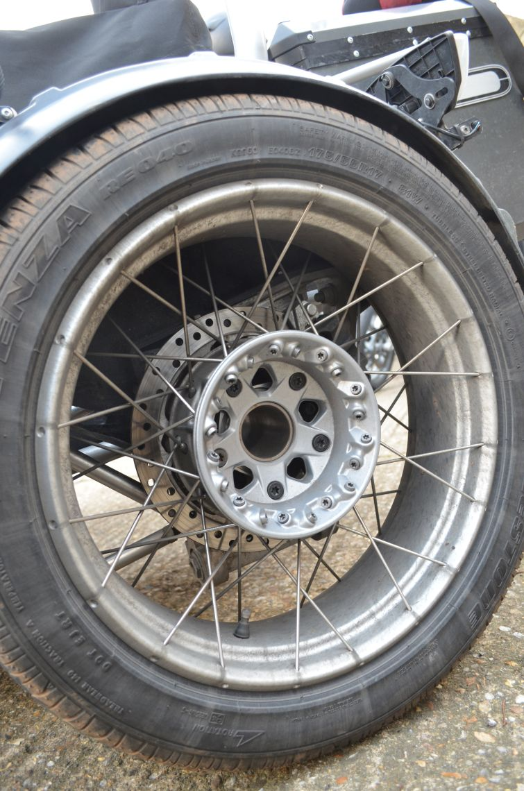 Wheel and Hub from a GS