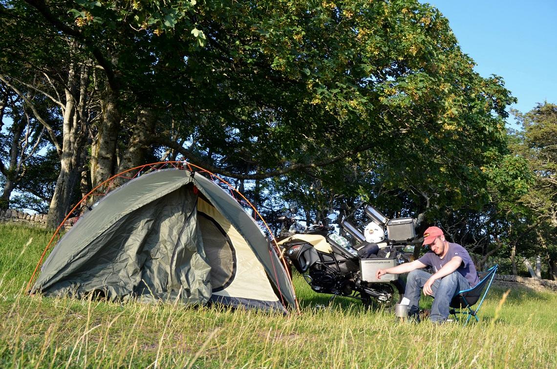'Wild' camping
