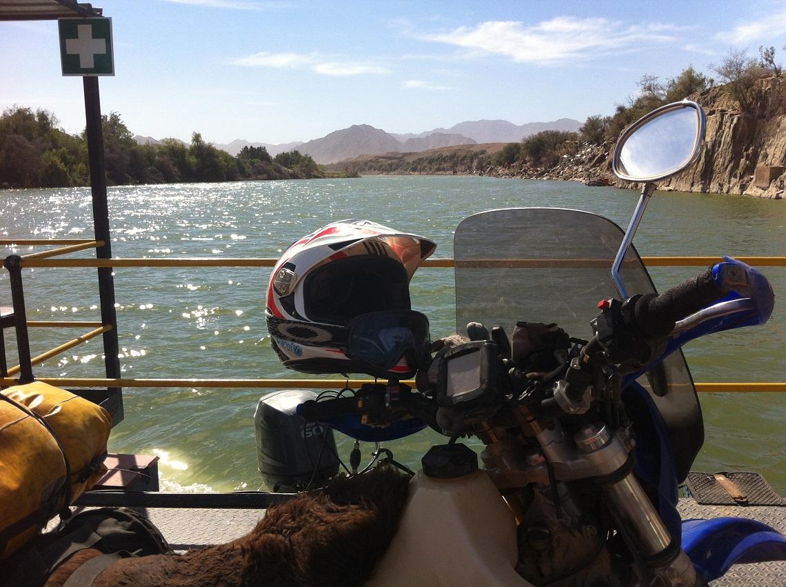 crossing the Orange River