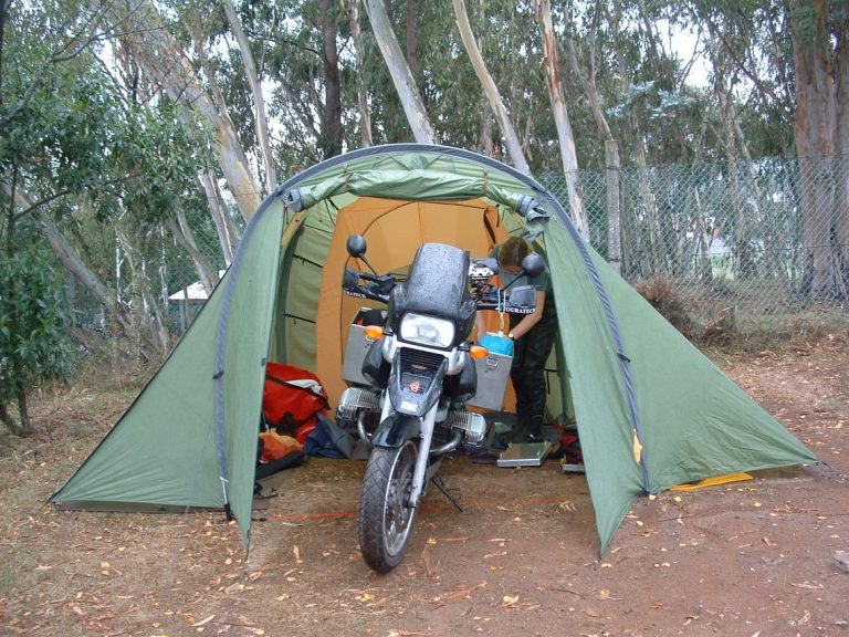 Budget-biking-Cogs-Lisa-Tent-and-GS