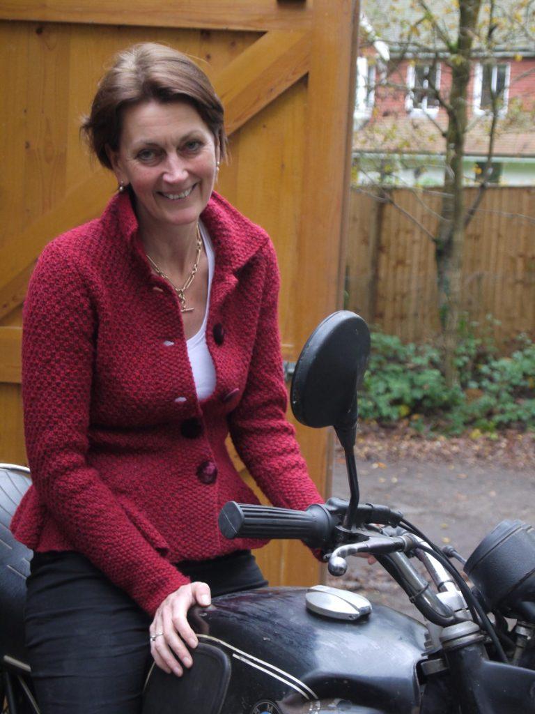 Elspeth now, she still owns the bike