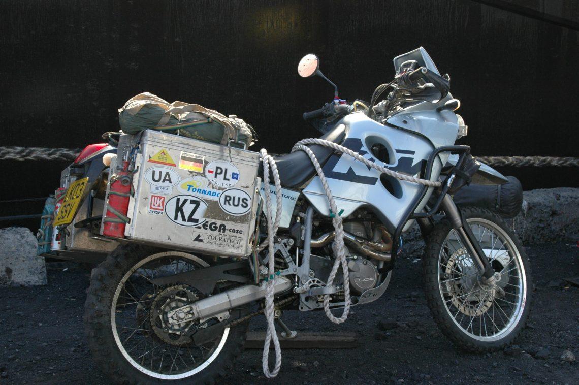 KTM bike box out