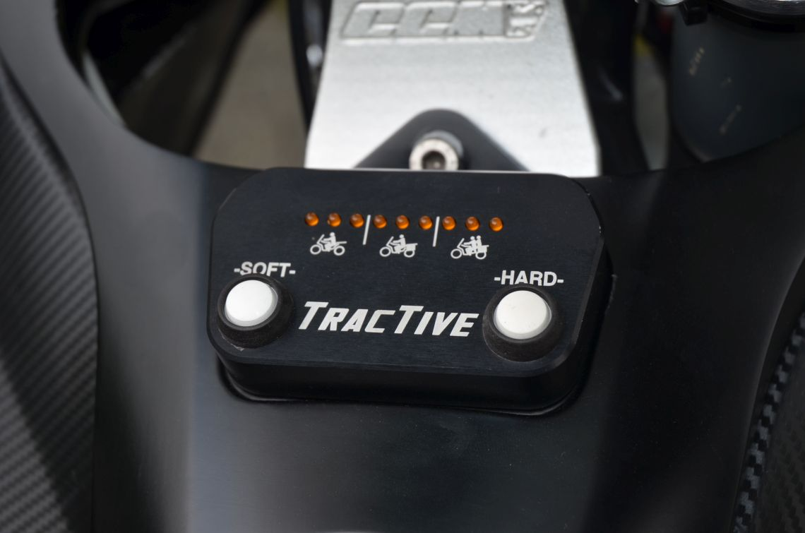 Optional adaptive suspension