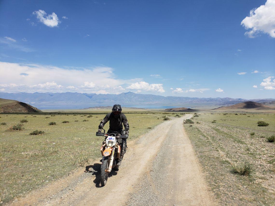 miles of deserted trails