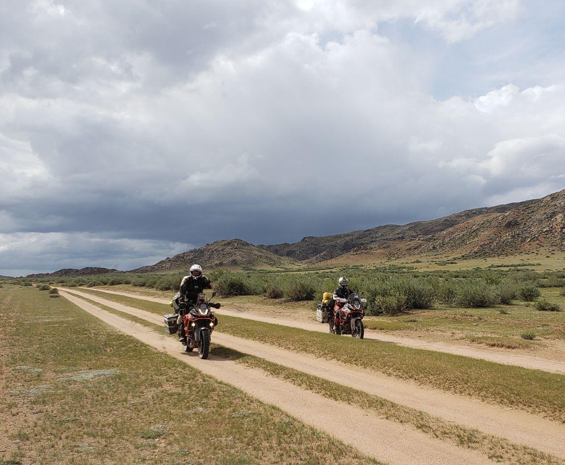 one of mongolia's better highways