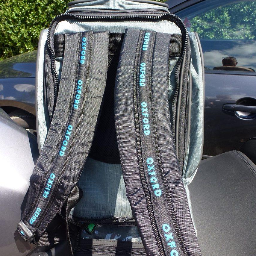 oxford back pack detail