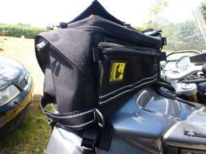 wolfman ranier bag on bike