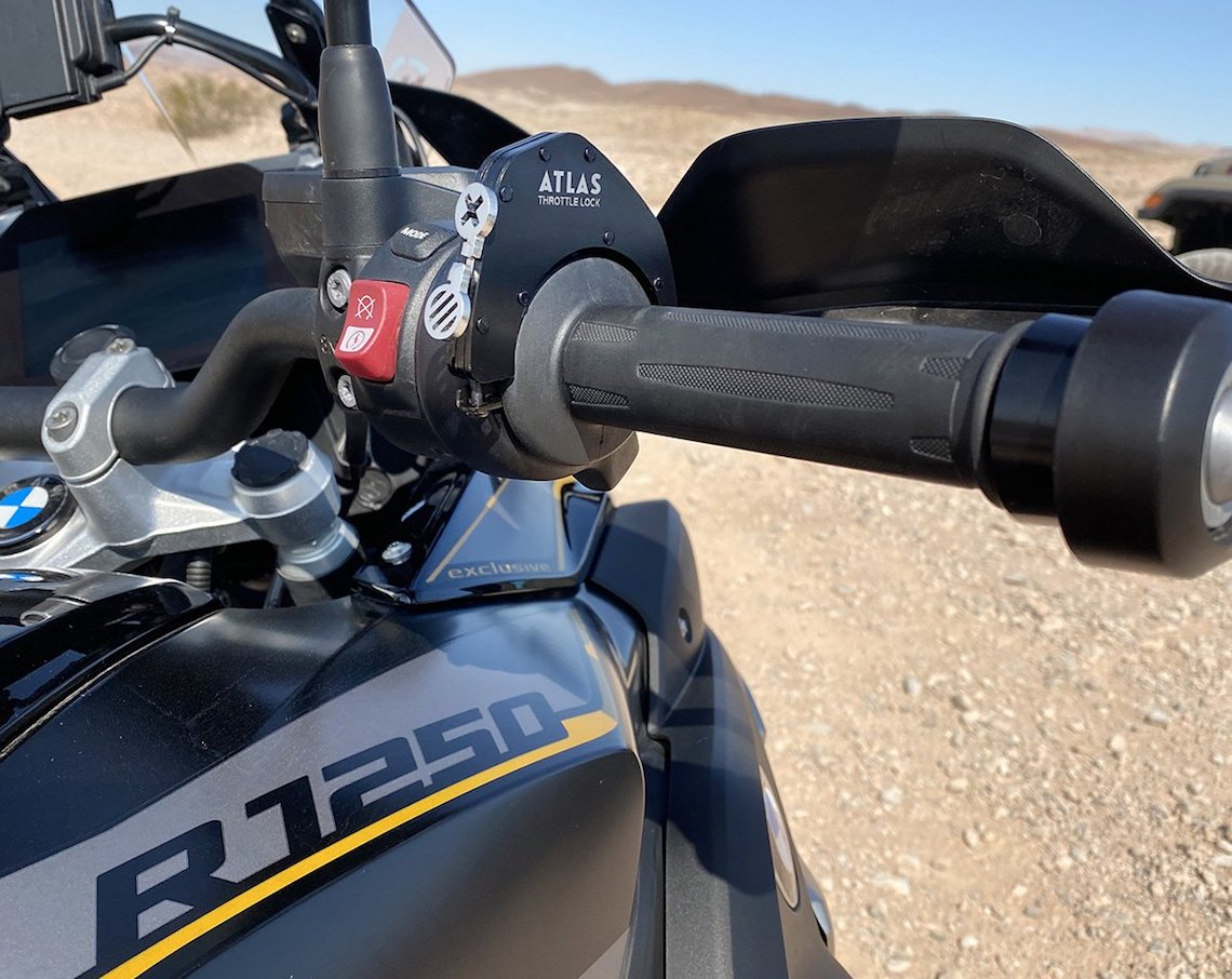 atlas throttle lock