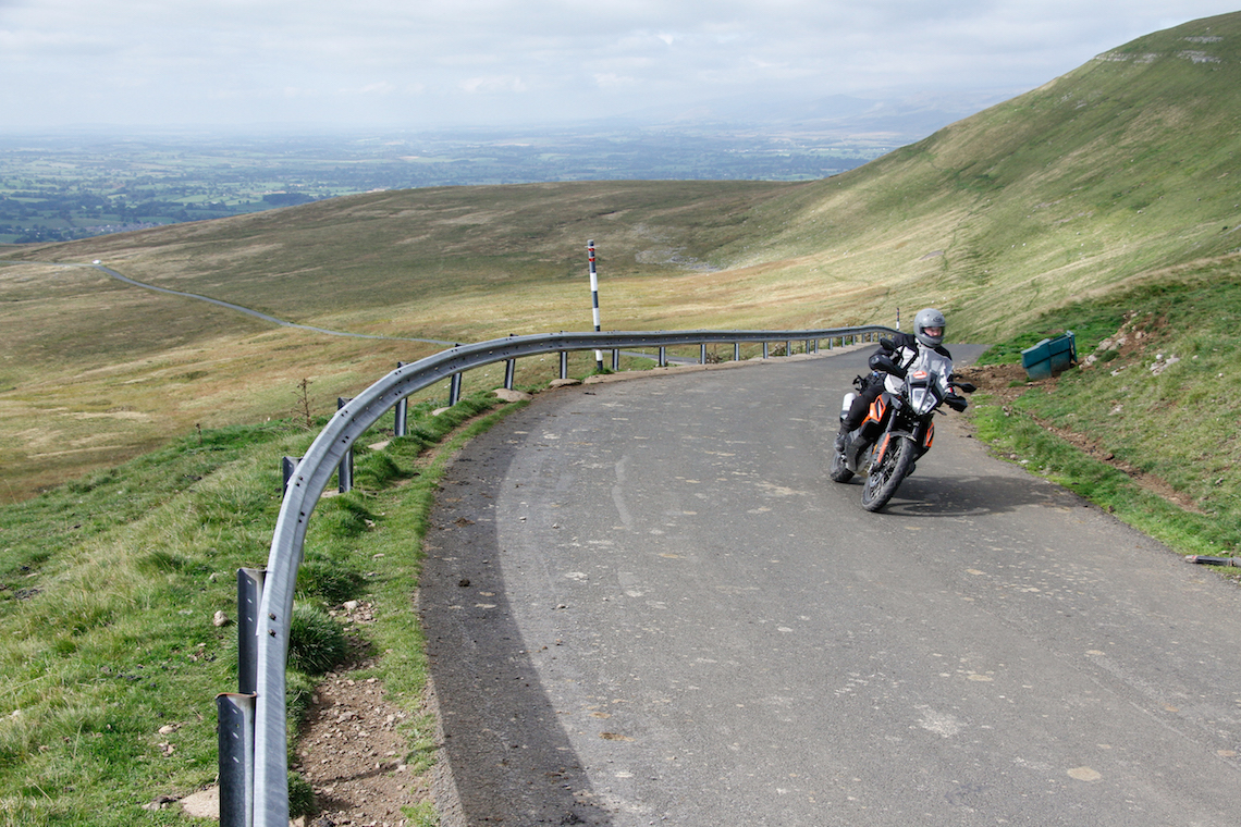 day ride in Northern England